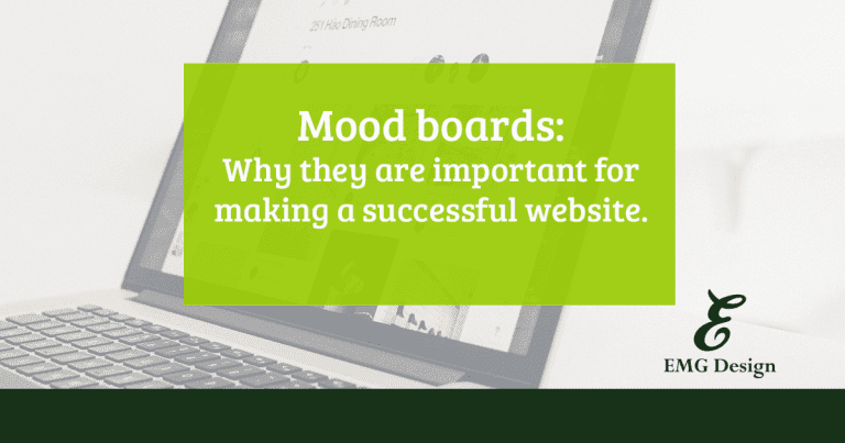 Mood Boards: Why they are important for a successful website.