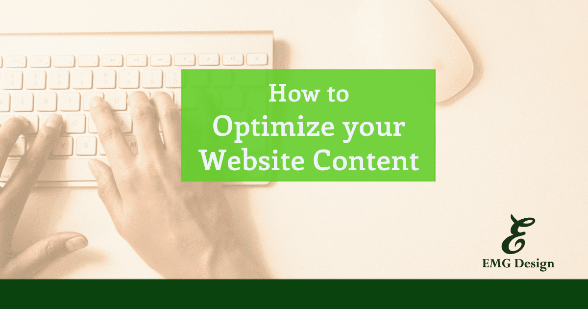 How to Optimize your Website Content