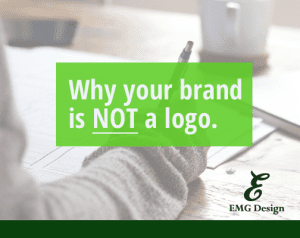 Brands are not logos